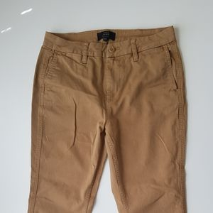 J.CREW CHINO women mustered colour pants